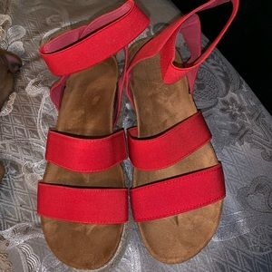 Shoes - Espadrille Platform Sandals